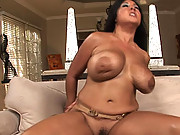 Jaylene with HUGE freaks of boobs gets pounded hard!
