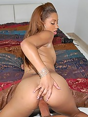 Beautiful hot little latina angel sucks a cock upside down then takes a hard fuck in her amazing box
