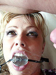 Hot bodied MILF is bound, disgraced and fucked!
