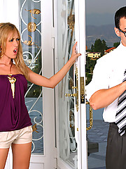 Capri cavalli needs to show proof of all her assets so she fucks the irs man