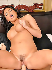 Amazing big ass tits asian babe mya milani gets a huge dong stuck up her pussy in these hot outdoor hadr fucking cumfaced pics