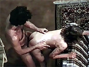 Retro couple screwing hardcore horny movies