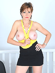 Slim mature with full firm big tits