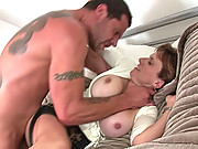 Cheating british milf wife banged