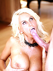 Naughty Milf Rhyse Richards Seduces Young Stud With Sexy Mouth