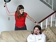 A bad husband gets taught a sexy lesson in this CFNM action