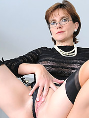 British nylons mature leg mistress