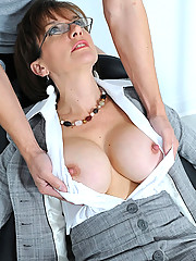Kidnapped handcuffed mature wife