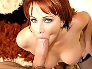 Hot red head gets caught watching porn then makes a porn of her own 4 movies