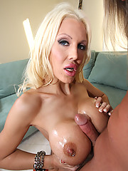 Super slut with huge monster boobs gets boned hard!