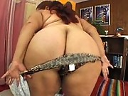Sexy BBW has big boobs and booty