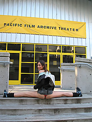 Hot exhibitionist loose in San Francisco