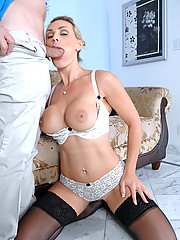 Horny Anilos Tanya Tate lets her big tits get licked by stud before she gets pounded on the sofa