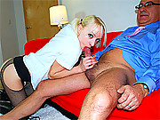 Old and horny brit shagging a real streetslut