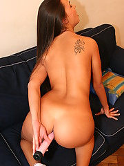 Huge Ass with Toys