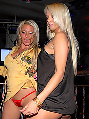 2 hot club mini skirt babes get fucked hard in these after hour club fucking pics