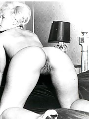 Hairy blonde from the sixties naked girlis
