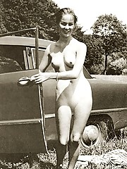 Home made vintage naked babes posing pictures