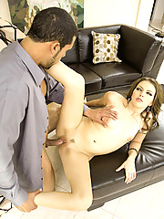 Missy Stone Gives Those Bedroom Eyes As She Sucks Hard Cock