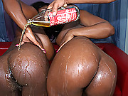Black whores getting the monster bubble asses fucked hard