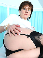 Cleavage and heels mature nurse