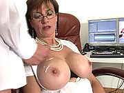 Matures toyboy shooting his load