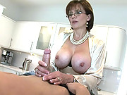 Kitchen designer seduced by hot wife