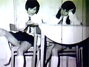 Real vintage naughty schoolgirls fucking hard