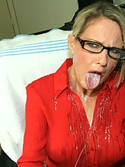 bridgett lee cumshot facial