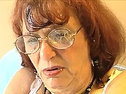 Granny Oral Angie gets cumblasted at cum blast city videos