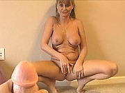 Milf Trish Demaris gets a big huge facial