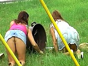 Rachel Steele and Stacie Star femdom handjobs get thiere face cumblasted with salty jizz