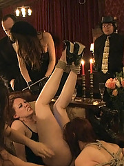 Sex party full of kinky sucking and fucking