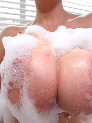 Dirty MILF with monster juggs gets fucked and loving it
