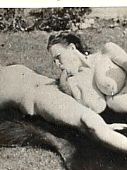 Real vintage hardcore couple having dirty sex