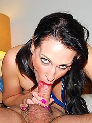 Senior cumming in her tight british butthole
