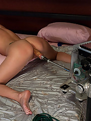 Hot Nanny machine fuck by wive