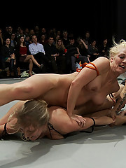 4 girl Nude Sexual Tag Team wrestling league!  Non-scripted action!  Best wrestling on the net!