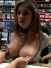 Felony is reduced to a nameless faceless fuck hole in an adult video store
