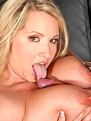 slutty Milf is riding a big cock
