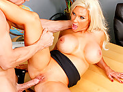 Slutty teacher gets fucked hard