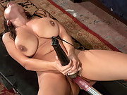 Pornstar Yurizan Beltran gets her HUGE tits machine sucked, her pussy pounded by robots while having uncontrollable, intense orgasms.
