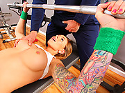 Horny chick gets slammed by her coach