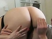 Gramma sucks younger dudes cock
