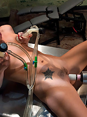 Tori Black fucked by hand held 2400RPM fuck machine. She cums like she