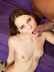 Petite Hottie Mia Freak Crazy For Big Black Cock