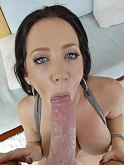 Juicy Babe Jayden James Round Ass Sprayed With Hot Cum
