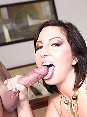Cynthia Pendragon Enjoying Fat Cock Plowing Pussy