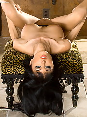 Roxanna our big boob fav of year gets on with a toy