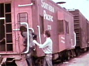 Willing horny chick fucking the train driver